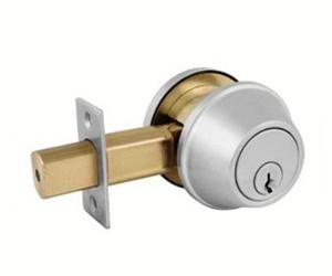 Commercial deadbolt lock